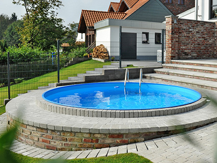 Poolsana der fachdiscount f r pool komplettsets for Gartenpool eingelassen